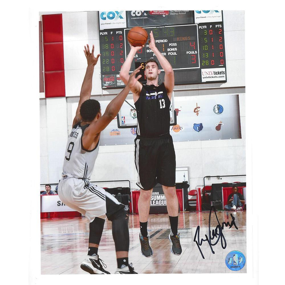 Georgios Papagiannis - Sacramento Kings - 2016 NBA Draft - Autographed Photo