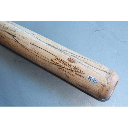 Photo of Team-Issued Bat: Brandon Moss