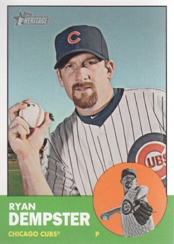 Photo of 2012 Topps Heritage #309 Ryan Dempster