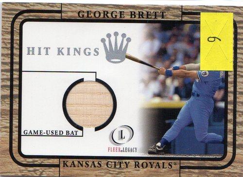 Photo of 2001 Fleer Legacy Hit Kings #6 George Brett