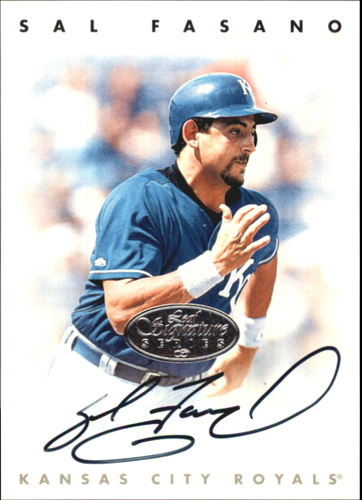 Photo of 1996 Leaf Signature Autographs Silver #65 Sal Fasano