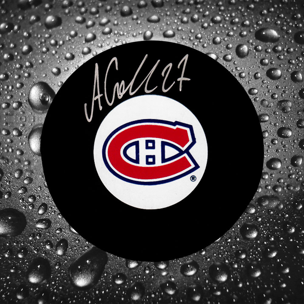 Alex Galchenyuk Montreal Canadiens Autographed Puck
