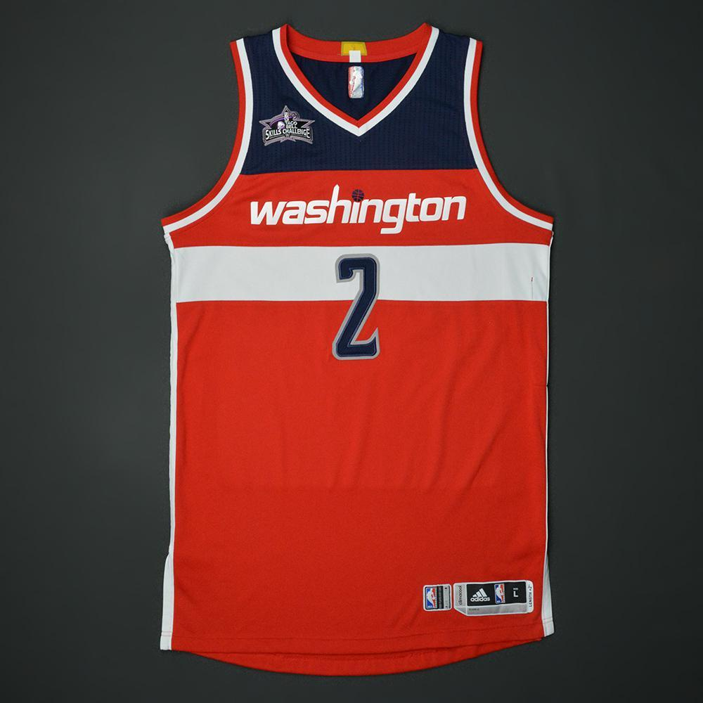 John Wall - Washington Wizards - 2017 Taco Bell Skills Challenge - Event-Worn Jersey