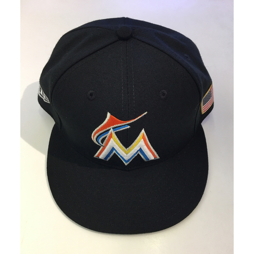 Photo of J.T. Realmuto Game-Used Hat - 7 1/4