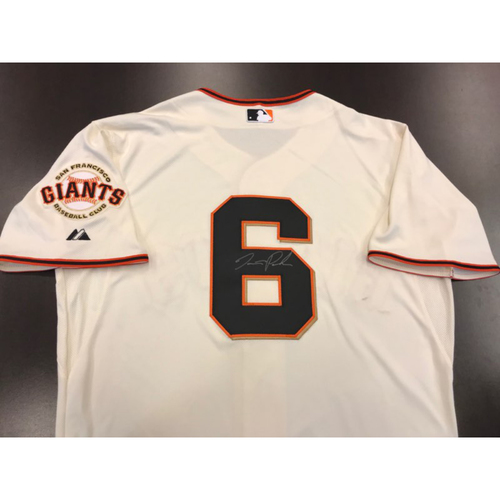 Photo of Giants Community Fund: Giants Jersey Autographed by Jarrett Parker