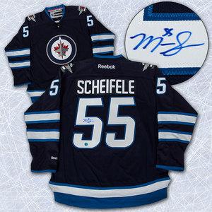 Mark Scheifele Winnipeg Jets Autographed Reebok Premier Jersey