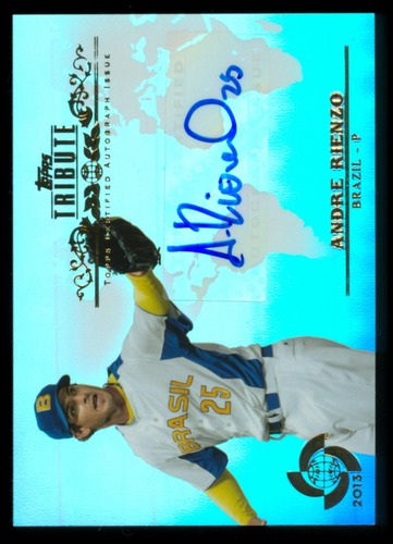 Photo of 2013 Topps Tribute WBC Autographs #AR Andre Rienzo