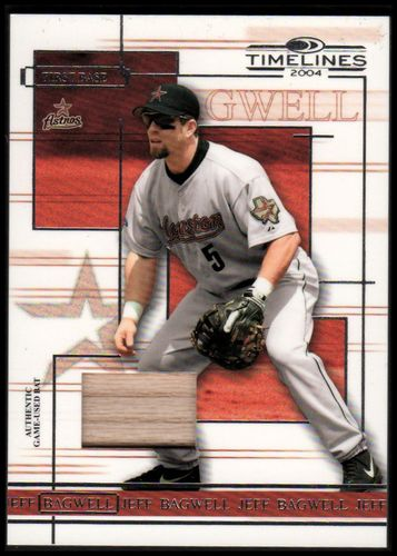 Photo of 2004 Donruss Timelines Material #24 Jeff Bagwell Bat
