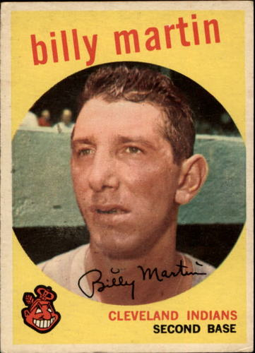 Photo of 1959 Topps #295 Billy Martin