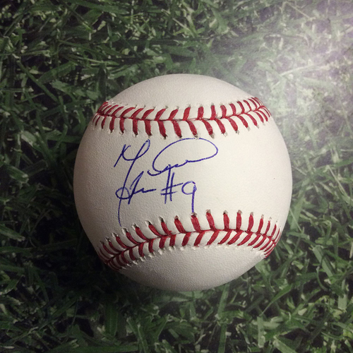 Photo of Manny Piña Autographed Baseball