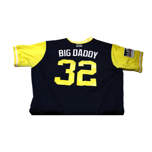 "Photo of Jabari ""Big Daddy"" Blash San Diego Padres Game-Used Players Weekend Jersey"