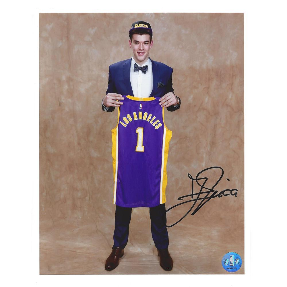 Ivica Zubac - Los Angeles Lakers - 2016 NBA Draft - Autographed Photo