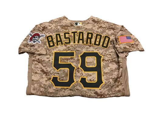 Antonio Bastardo Team-Issued Camo Jersey