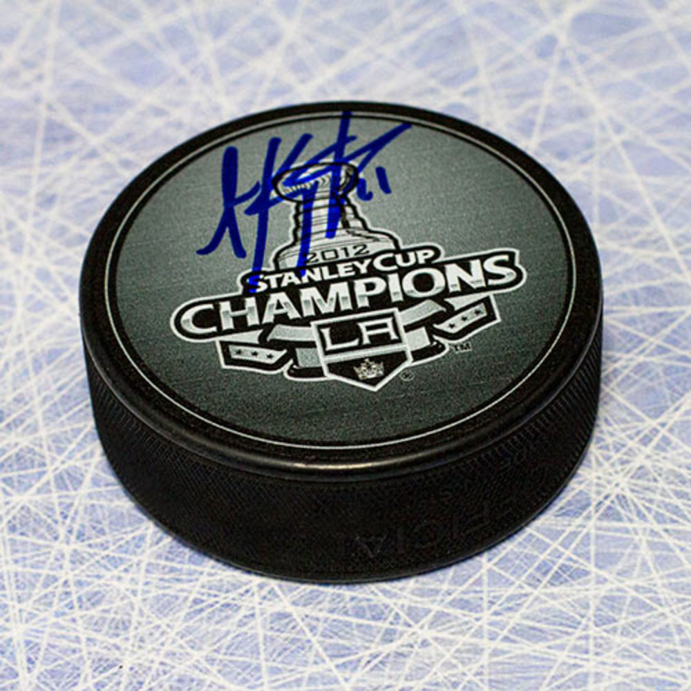 Anze Kopitar Los Angles Kings Autographed 2012 Stanley Cup Hockey Puck