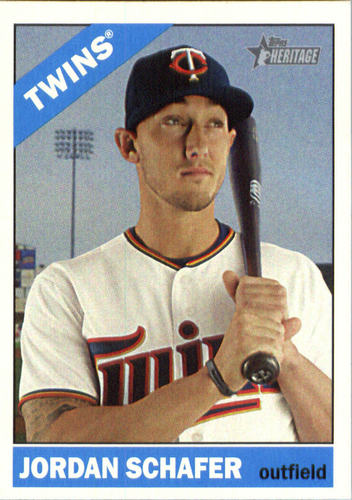 Photo of 2015 Topps Heritage #607 Jordan Schafer
