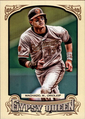 Photo of 2014 Topps Gypsy Queen #280A Manny Machado