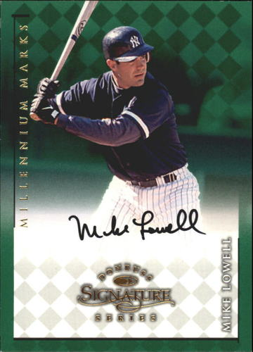 Photo of 1998 Donruss Signature Autographs Millennium #75 Mike Lowell