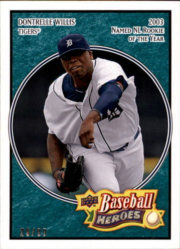 Photo of 2008 Upper Deck Heroes Sea Green #61 Dontrelle Willis