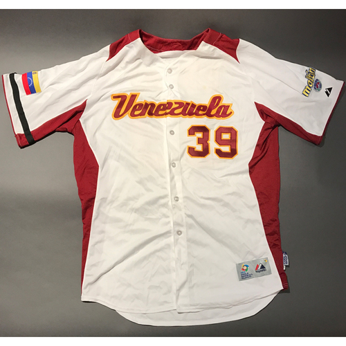 Photo of 2009 World Baseball Classic Jersey - Venezuela Jersey, Juan Rincon #39