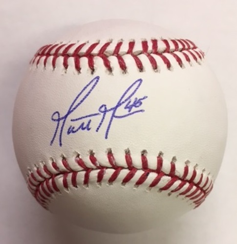 Photo of Matt Moore Autographed Baseball
