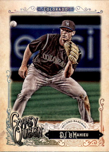 Photo of 2017 Topps Gypsy Queen #245 DJ LeMahieu