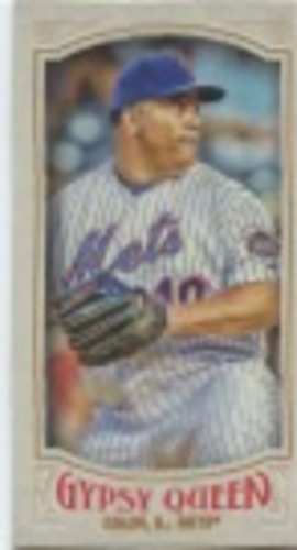 Photo of 2016 Topps Gypsy Queen Mini #246 Bartolo Colon