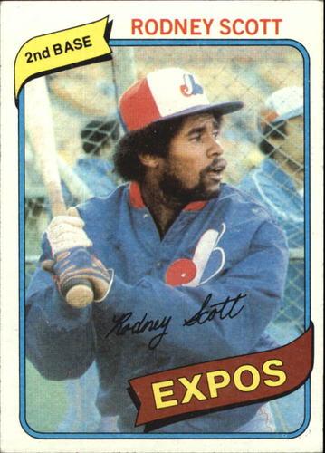 Photo of 1980 Topps #712 Rodney Scott