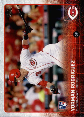 Photo of 2015 Topps #641 Yorman Rodriguez RC