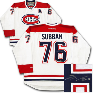 P.K. Subban Autographed Montreal Canadiens Jersey