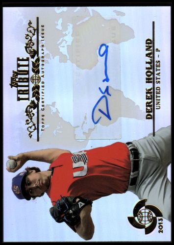 Photo of 2013 Topps Tribute WBC Autographs #DHO Derek Holland