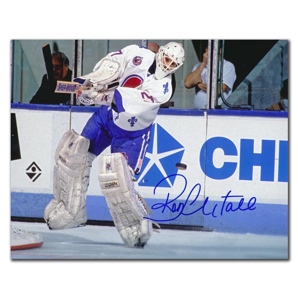 Ron Hextall Quebec Nordiques Autographed 8x10