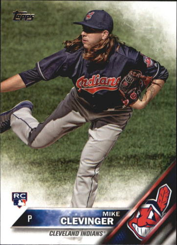 Photo of 2016 Topps Update #US69A Mike Clevinger RC