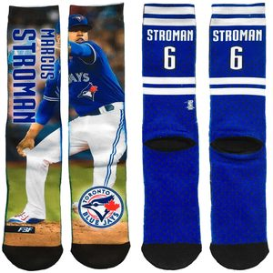 Toronto Blue Jays Field Stripe Marcus Stroman Socks by FBF