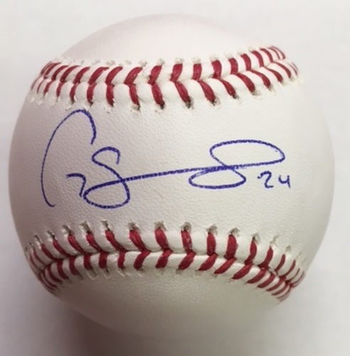 Photo of Gary Sanchez Autographed Baseball