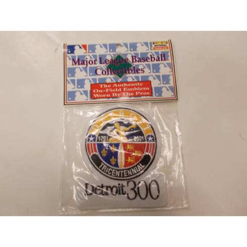 Photo of Tricentennial Patch- Detroit 300 Years