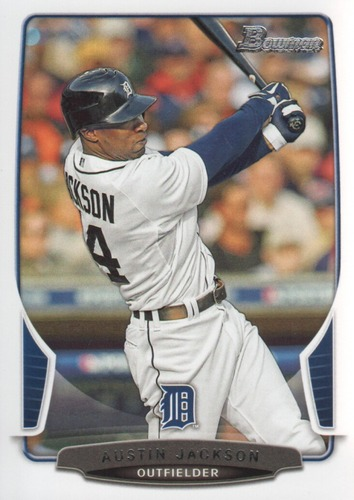 Photo of 2013 Bowman #63 Austin Jackson -- Indians post-season