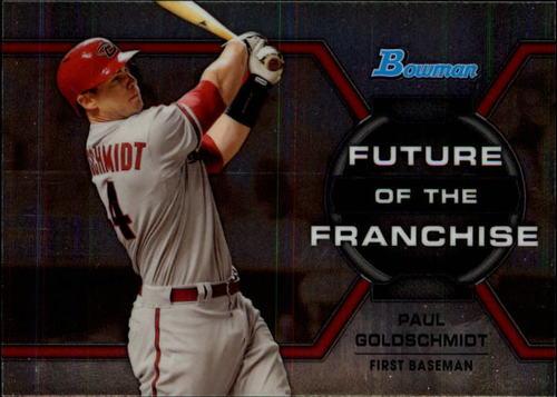 Photo of 2013 Bowman Draft Future of the Franchise Paul Goldschmidt -- D'backs post-season