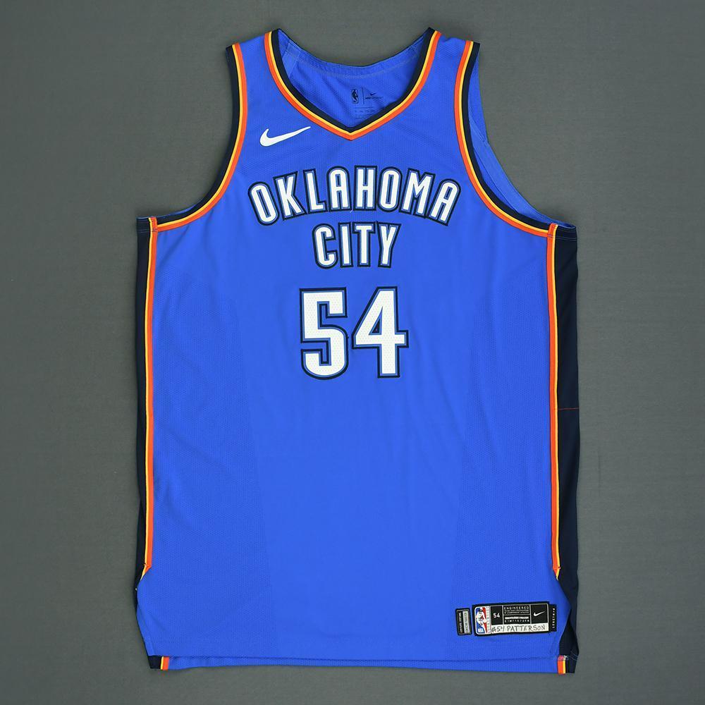 Patrick Patterson - Oklahoma City Thunder - Kia NBA Tip-Off 2018 - Game-Worn Icon Edition Jersey