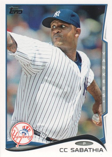 Photo of 2014 Topps #457 CC Sabathia