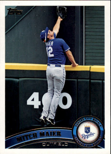 Photo of 2011 Topps #658 Mitch Maier