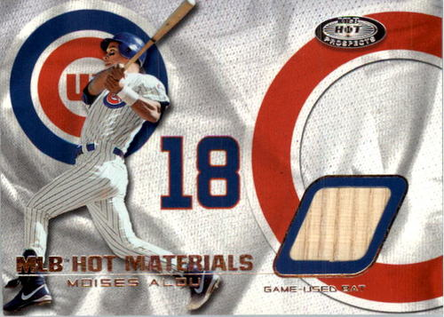 Photo of 2002 Hot Prospects MLB Hot Materials #MO Moises Alou Bat
