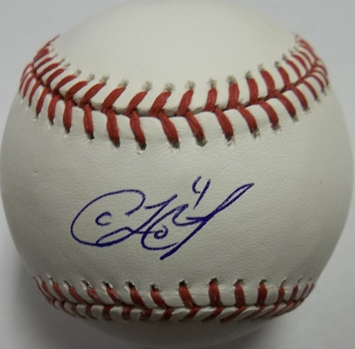 Coco Crisp Autographed Baseball