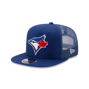 Toronto Blue Jays Trucker Patched Snapback Cap by New Era