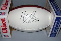 NFL - VIKINGS HARRISON SMITH SIGNED PANEL BALL