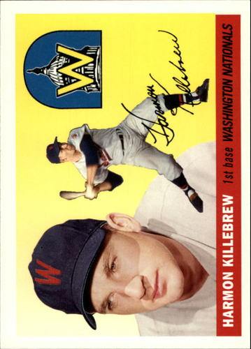 Photo of 2006 Topps Rookie of the Week #10 Harmon Killebrew 1955