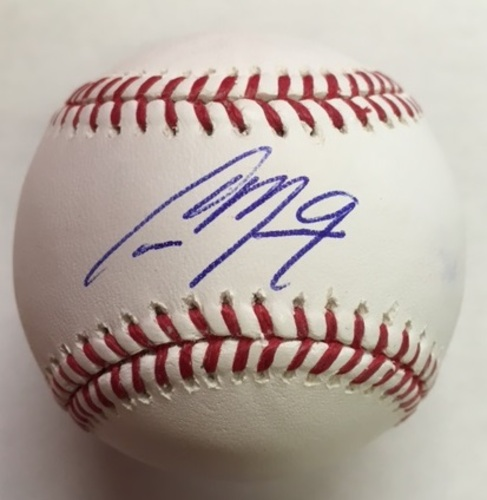 Photo of Cameron Maybin Autographed Baseball