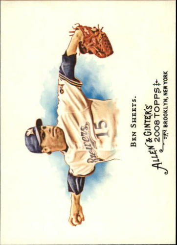 Photo of 2008 Topps Allen and Ginter #57 Ben Sheets