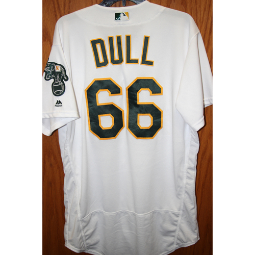 """Photo of Ryan Dull Game-Used """"Atleticos"""" Jersey"""