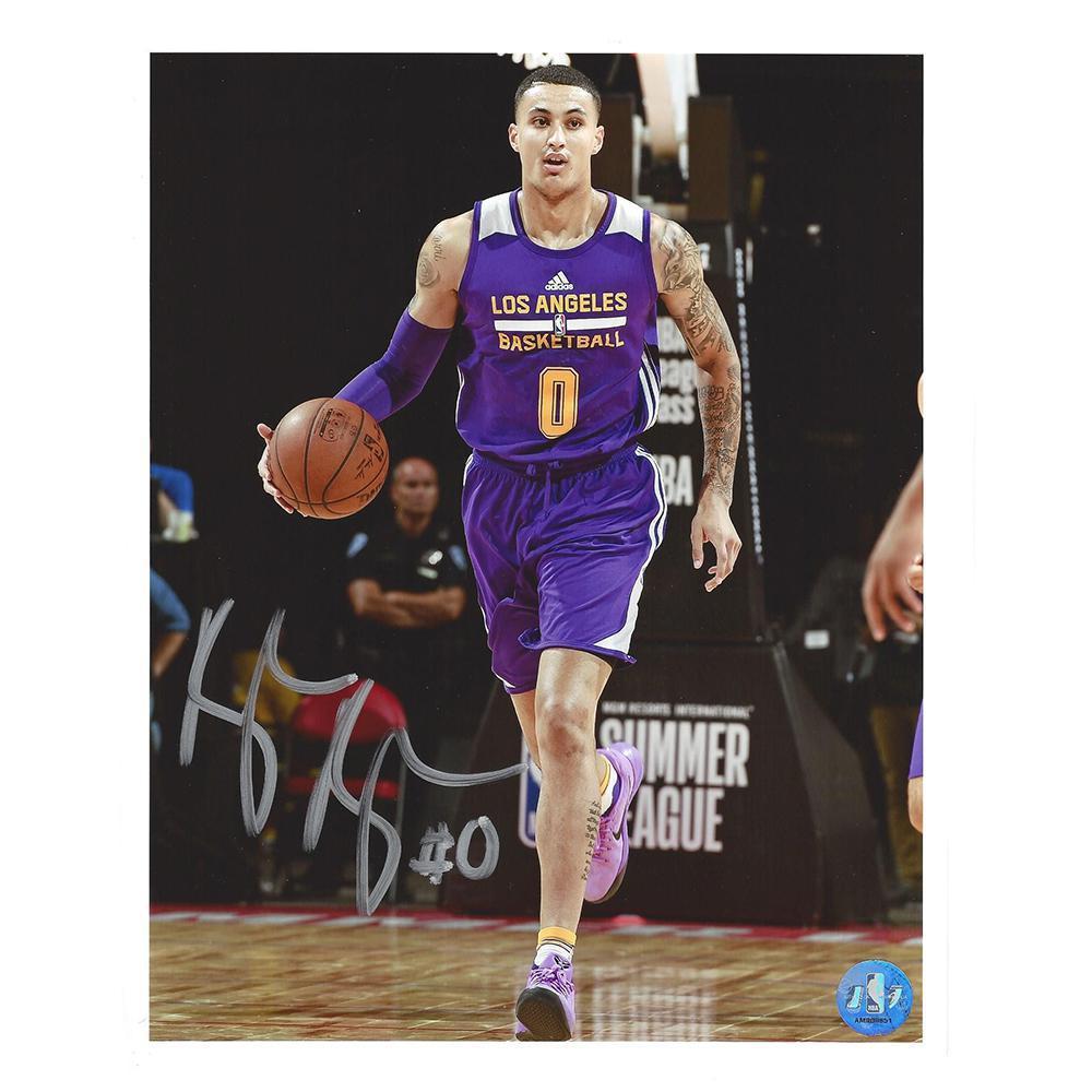 Kyle Kuzma - Los Angeles Lakers - 2017 NBA Draft - Autographed Photo