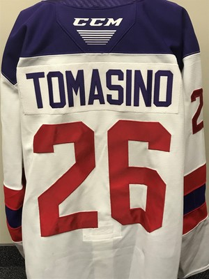 Philip Tomasino 2019 Sherwin-Williams CHL/NHL Top Prospects Game Issued Jersey